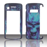Blue Skull LG enV Touch VX11000 Verizon Case Cover Hard Phone gfh