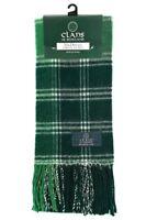 100% Wool Tartan Clan Scarf MacDonald Lord Of The Isles