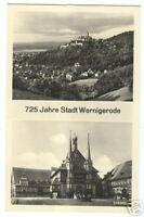 AK D A Wernigerode 725 Jahre 2 Ansichten