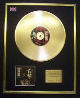 LIVING COLOUR STAIN CD GOLD DISC LP FREE P+P!