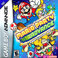 MARIO PARTY ADVANCE GAME BOY ADVANCE GBA COSMETIC WEAR