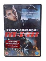 Mission Impossible 3 (DVD 2006). Tom Cruise. Excellent Condition.