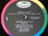 "MARILLION lady nina PROMO 12"" MINT prog progressive"