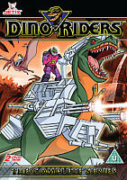 Dino Riders - The Complete Series (DVD, 2007, 2-Disc Set)