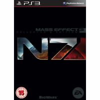 BRAND NEW SEALED Mass Effect 3 N7 Collector's Edition PS3