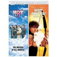 Hot Shots!/Hot Shots! Part Deux (DVD, 2007, 2-Disc Set) Double Feature 2 DVD Set