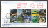 2006 ENGLAND A BRITISH JOURNEY ON FDC WITH METER MARK
