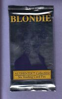 BLONDIE Authentix Trading Card Pack Fresh from Box!