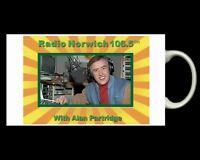 ALAN PARTRIDGE ...Steve Coogan....RADIO NORWICH... MUG