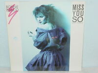 """*****BONNIE BIANCO""""MISS YOU SO""""-12""""Inch 1987 Metronome Records*****"""