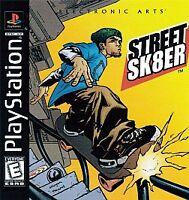 STREET SK8ER 2 PS1 PLAYSTATION 1 DISC ONLY