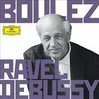 NEW Boulez Conducts Debussy & Ravel (Audio CD)