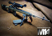 US Military Designated Marksman M14 Sniper Rifle 1/6 Action Figure Model G_M14