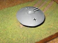 """Flugscheibe  RFZ-2 """"Wärmflasche""""  1/72 Bird Models Resinbausatz / resin kit"""
