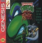 Teenage Mutant Ninja Turtles: Tournament Fighters (Sega Genesis GAME AND BOX