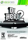 DJ HERO 2 Xbox 360 Game Activision DJ Hero2 Video Game Xbox360 rated T LADY GAGA