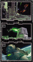 Star Wars 30th anniversary triptych set of 27