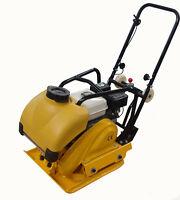 Walk Behind Vibratory Dirt Soil Plate Compactor Water Tank Wheel Kit Honda Motor
