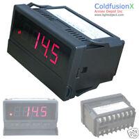Red AC/DC Dual Control 500V V Volt meter Voltmeter