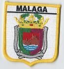 MALAGA ANDALOUSIE ESPAGNE écusson drapeau monde brodé patch badge exclusivité