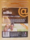 Wilko Compatible Cartouches D'encre Pour Canon BCI-21/24 2 Noir & 1 Tricolore