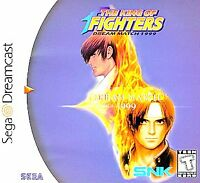 KING OF FIGHTERS DREAM MATCH '99 SEGA DREAMCAST DISC ONLY