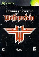 RETURN TO CASTLE WOLFENSTEIN ORIGINAL XBOX DISC ONLY