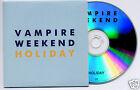 VAMPIRE WEEKEND Holiday 2010 UK 1-track promo CD