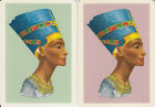Vintage Swap/Playing Cards -2 SINGLE WIDES- EGYPTIAN THEME B