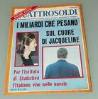 (PRL) 1967 GIUGNO QUATTROSOLDI ANNO VII N°6 VINTAGE OLD RIVISTA REVIEW MAGAZINE