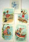 Mariapia brochure Cielo e mare con 4 cartoline 10x15 - nuove