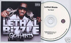 LETHAL BIZZLE Go Hard UK 16-trk numbered promo test press CD