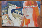 RUSSIAN FINE ART SIGNED ORIGINAL OIL ON CANVAS PAINTING GREAT ARTIST