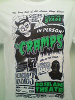 THE CRAMPS POSTER MENS MUSIC T SHIRT punk rock