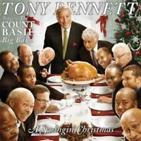 Tony Bennett feat. Count Basie Big Band- A Swingin' Christmas (2008)  CD  NEW