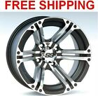 "ITP SS212 Honda Rancher 420 (IRS) Wheels Rims 12"" 4 Wheel Rim Set Kit"