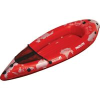 Advanced Elements PackLite 1 Person Kayak, Red