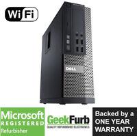 Dell OptiPlex 7010 SFF Intel i3-3220 3.3Ghz 8GB RAM 1TB HDD Win 10 Pro