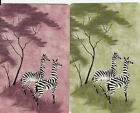 Vintage Swap/Playing Cards - 2 SINGLE- ZEBRAS