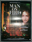 MAN ON FIRE Scott Glenn ELIE CHOURAQUI Paul Shenar 40x60cm 1987