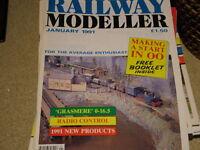 RAILWAY MODELLER  8 ISSUES 1991