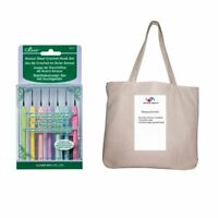 Clover Amour Steel Crochet Hook Gift Set Sizes 0 To 12 without Case with 1 Bag
