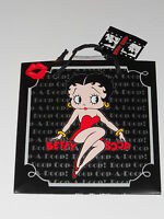 2 x Betty Boop LARGE Gift Bag bags Brand New Sitting legs down pose 13X13X6.5