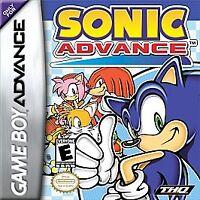 Sonic Advance (Nintendo Game Boy Advance, 2002) GAME ONLY NICE SHAPE NES HQ