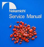 Nakamichi 582 Replacement PP Capacitor Kit