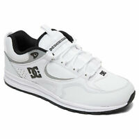 DC Shoes Men's Kalis Lite SE Low Top Sneaker Shoes White Blk Blk Footwear Walk