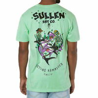 Sullen Men's Getting Hammered Short Sleeve T Shirt Green Clothing Tattooed