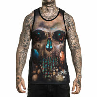Sullen Men's Rember Sleeveless Tank Top Shirt Black Clothing Apparel Tattooed