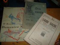 SANTI , CULTO , CHIESA , DELL'INIZIO DEL 900'  ( 3 Libri )