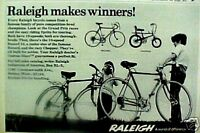 Raleigh Record,Chopper Boys 1973 Bicycle Print AD